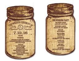jar wedding programs custom wedding invitations wedding fans baby shower birthday