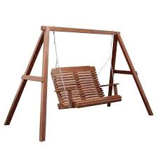 Patio Swing Frame by Wooden Porch Swing With Metal Frame Porch Swing Frame Home Depot