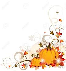 thanksgiving pumpkin border clipart clipartxtras