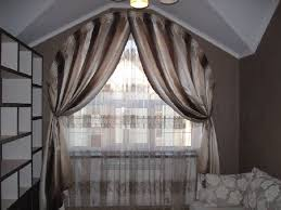 Half Moon Windows Decorating Amazing 20 Arch Window Curtains And Tips On Arched Window