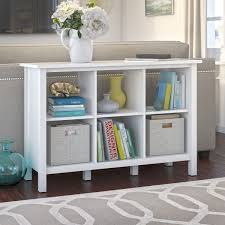 broadview 6 cube bookcase in pure white bush furniture bdb145wh 03