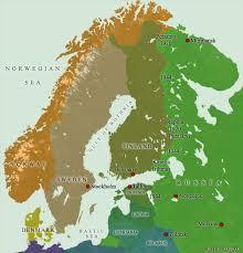 map northern europe scandinavia kingdoms of northern europe fenno scandinavia nordic countries