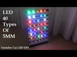 5mm led light different type of color single led light inspired