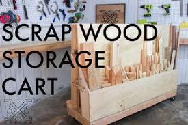 scrap wood rolling scrap wood storage cart 3x3 custom