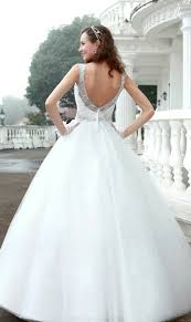 buy cheap affordable crystal embellished tulle ball gown bridal