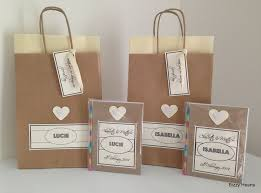 gift bags for wedding personalised childrens vintage style activity pack gift bag