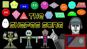l shade shapes the shapes song shapes rap chant robot shape song the kids