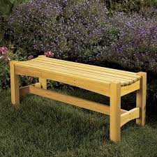 Free Outdoor Garden Bench Plans by Woodworking Project Paper Plan To Build Garden Bench
