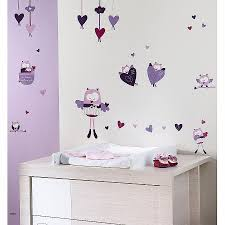 sticker mural chambre fille stikers chambre enfant luxury mam zelle bou stickers muraux violet