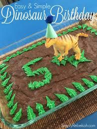 dinosaur birthday easy and simple dinosaur birthday party simply rebekah