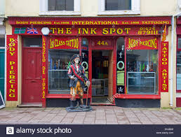 the ink spot tattoo and body piercing shop teignmouth devon