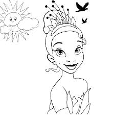 princess frog coloring pages coloringsuite
