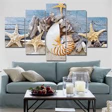Peinture Moderne Pour Salon by Online Get Cheap Bleu Plage Peinture Murale Aliexpress Com