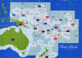 World Map Country Flags South Pacific Countries Map Thikombia Fiji U2022 Mappery
