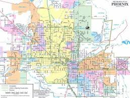 phx map 32 best maps of images on arizona and