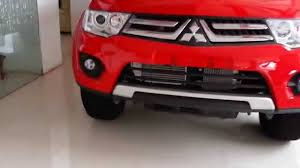 mitsubishi triton 2012 interior mitsubishi pajero sports exterior and interior youtube