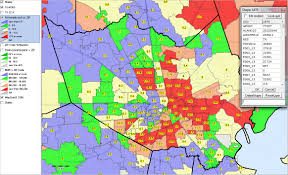 Chicago Area Code Map by Local Area Employment Patterns Census Tract Zip Code