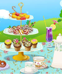 tea party decoration game