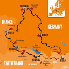 Black Forest Germany Map Baggers And Edelweiss Bike Travel Team Up For A European Adventure