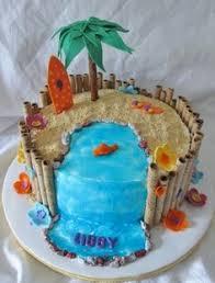 Tropical Theme Birthday Cake - luau birthday cakes maggie u0027s luau u2014 children u0027s birthday cakes