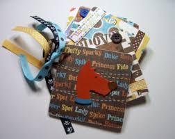 dog scrapbook album pet dog scrapbook dog lover gift pet memorial gift new puppy
