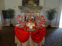 red and gold candy buffet red and gold candy buffet pinterest