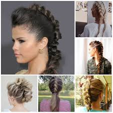 braided hairstyles for short hair pinterest