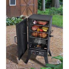 vertical gas bbq smoker propane smoking meat cooker 2 door outdoor