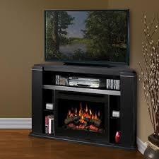 Small Electric Fireplace Space Saving Corner Electric Fireplace Providing Warmth For Your