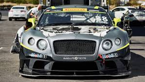 continental bentley taking a spin on the track in bentley u0027s continental gt3 racecar
