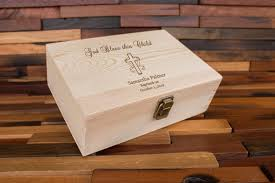 baptism memory box baptism gift baptism memory box keepsake box baptism gift for