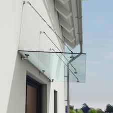 Overdoor Canopies by Luxury Stainless Steel U0026 13mm Thick Glass Over Door Canopy Porch