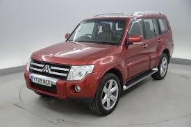 mitsubishi pajero 2008 used mitsubishi shogun diamond for sale motors co uk