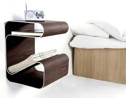 Original Alternatives To A Common Bedside Table Freshomecom - Night table designs