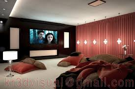 3d home theater exterior and interior designs freelancers 3d