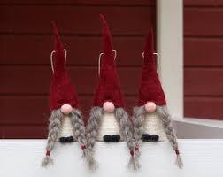 swedish christmas decorations swedish tomte ornaments jultomte nisse swedish christmas