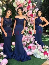 royal blue bridesmaid dresses buy stylish royal blue mermaid halter beading with lace backless