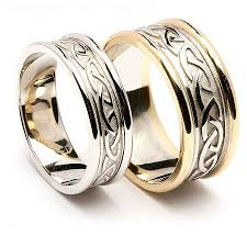 celtic knot wedding bands wedding celtic knot wedding rings sets for him and ring