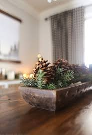 dining room christmas decor mountain modern life