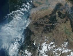 map of oregon smoke can t breathe you aren t alone smoke chokes western oregon kval