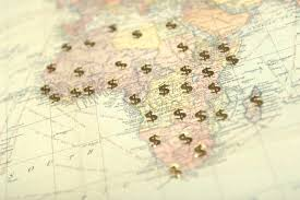 africa map review africa map dollar signs global trade review gtr