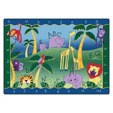 educational rugs wayfair literacy alphabet jungle kids rug loversiq