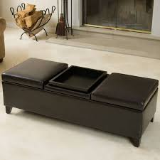 Black Storage Ottoman With Tray Sofa Large Ottoman Tray Ottoman Coffee Table Storage Ottoman