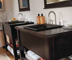 Contemporary Bathroom Cabinets - contemporary bathroom vanities kemper cabinetry