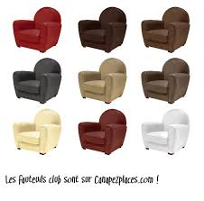 fauteuil club couleur des fauteuils club de toutes les couleurs sur canape2places