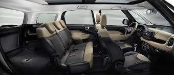 renault lodgy seating 2014 fiat 500l living seven seater mpv launched details