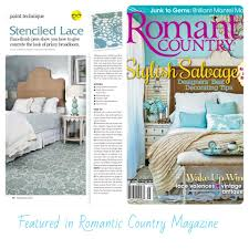 bella tucker project featured in romantic country homes