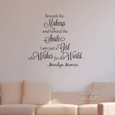 popular marilyn monroe wall quote stickers buy cheap marilyn girls quote wall sticker inspirational marilyn monroe quote wall decal girls room wall quotes cut vinyl