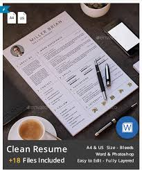 Envato Resume Templates Best Resume Templates And Cvs To Use To Get Your New Dream Job In