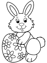 easter bunny coloring pages free printable easter bunny coloring